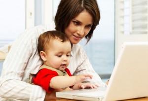 Как найти работу в интернете или заработать в декрете